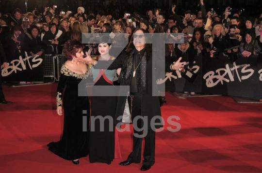Sharon Osbourne, Kelly Osbourne and Ozzy Osbourne