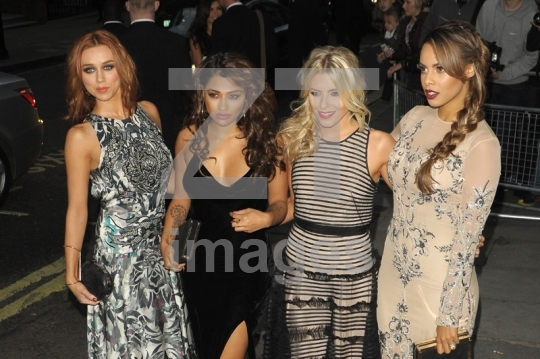 Una Healy, Vanessa White, Mollie King and Rochelle Humes of The Saturdays