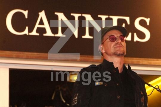 Bono of U2