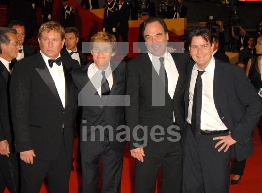 Tom Berenger, Willem Dafoe, Willem Dafoe, Charlie Sheen