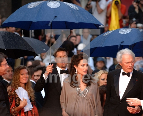 Brad Pitt, Angelina Jolie, Clint Eastwood