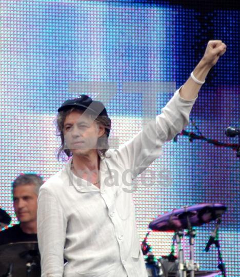 Bob Geldof at Live8