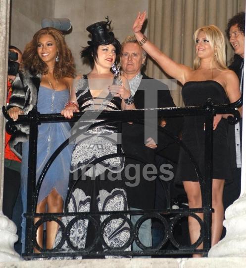 Beyonce Knowles, Pink, Britney Spears