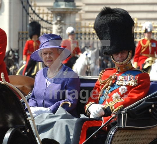 HRH Queen Elizabeth II and Prince Philip Duke of Edinburgh