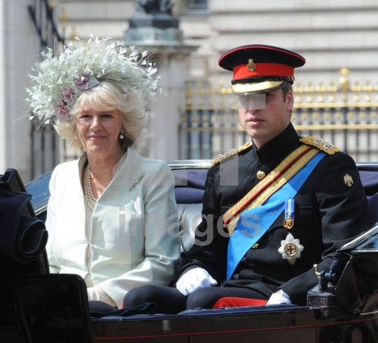Camilla Parker Bowles , Prince William