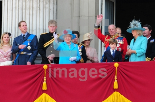 Prince William, Prince Harry, Queen Elizabeth II,
