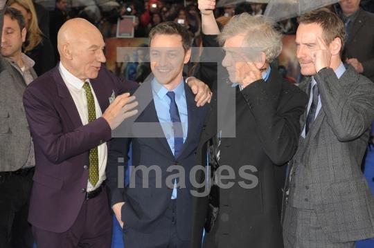 Patrick Stewart, James McAvoy, Ian McKellen, Michael Fassbender
